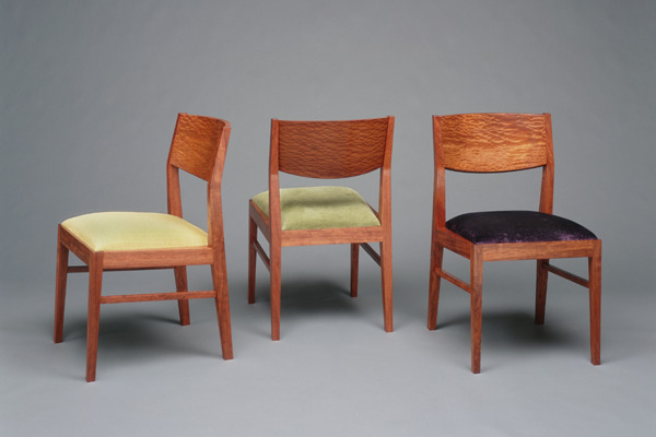 Bubinga Dining Chairs