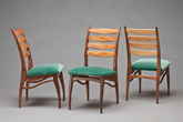 Walnut and Sycamore Chairs