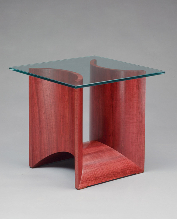 Bon Purpleheart Side Table