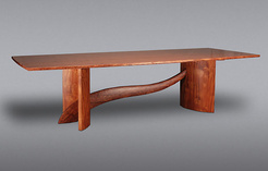 Bubinga and Mahogany Dining Table