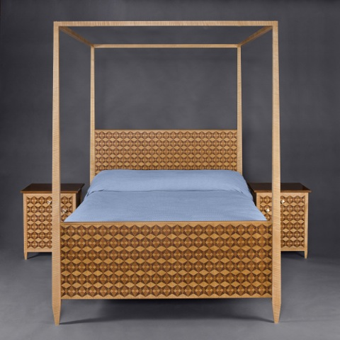 Gaudi Parquetry Bed