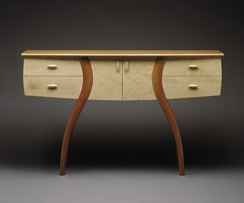 Maple and Cherry Sideboard